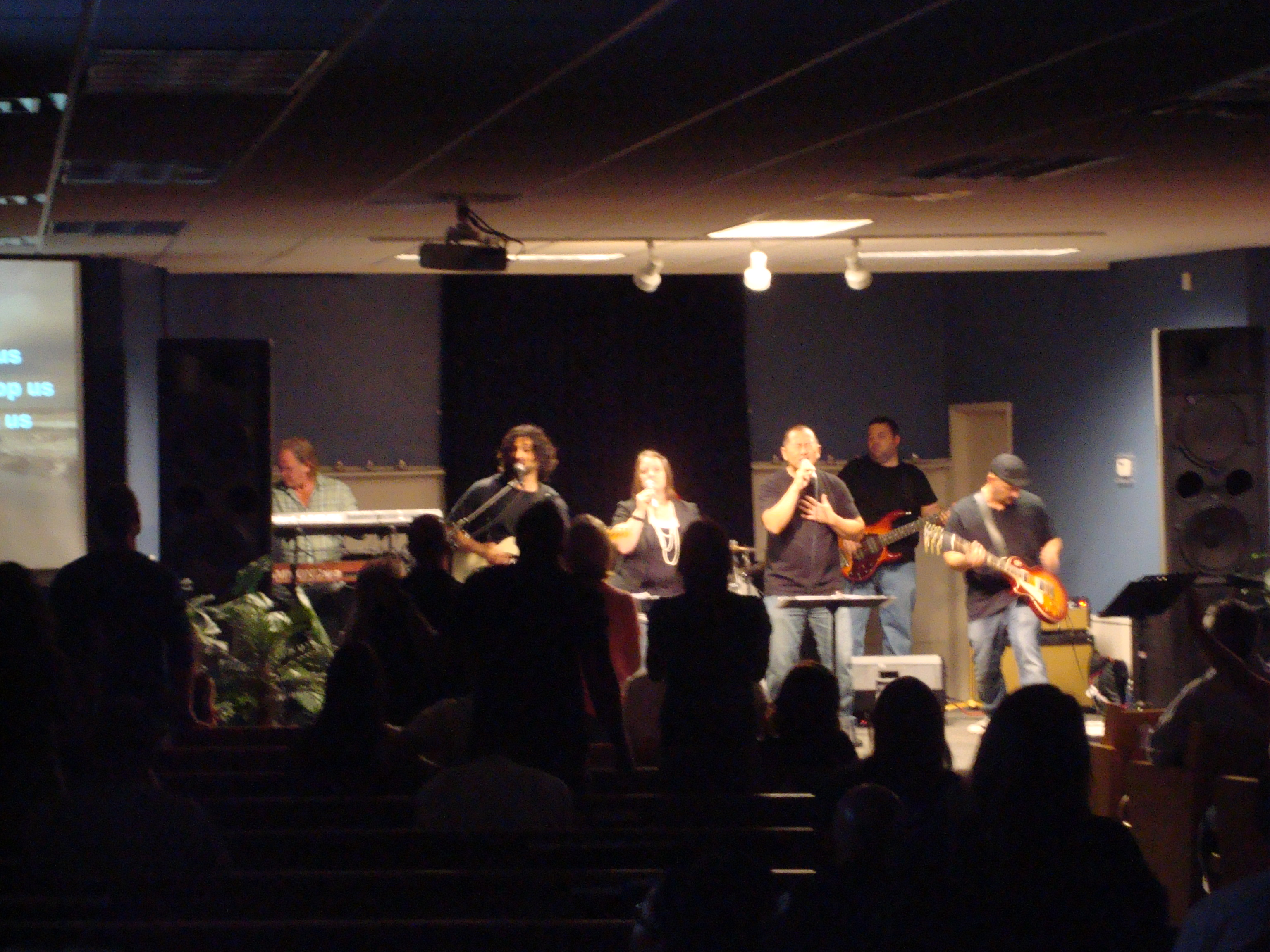 Worshiping with the Homeless