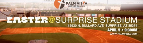Easter at Surprise Stadium 2015